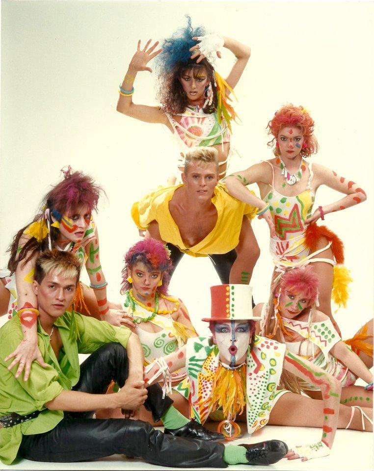 Live TV in Australia inthe 80's!!