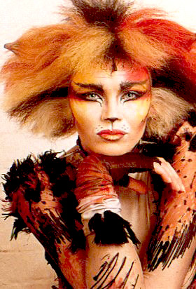 Bombalurina in CATS